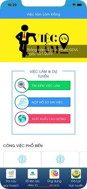Việc làm Lâm Đồng