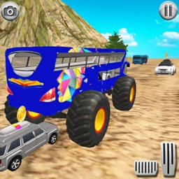 Monster Bus Offroad Racing 3D