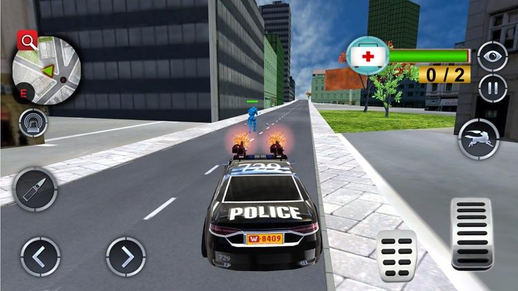 Police Robot Dog Chase