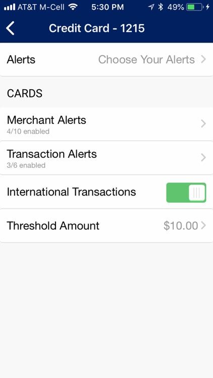 First Volunteer Credit Card screenshot-4
