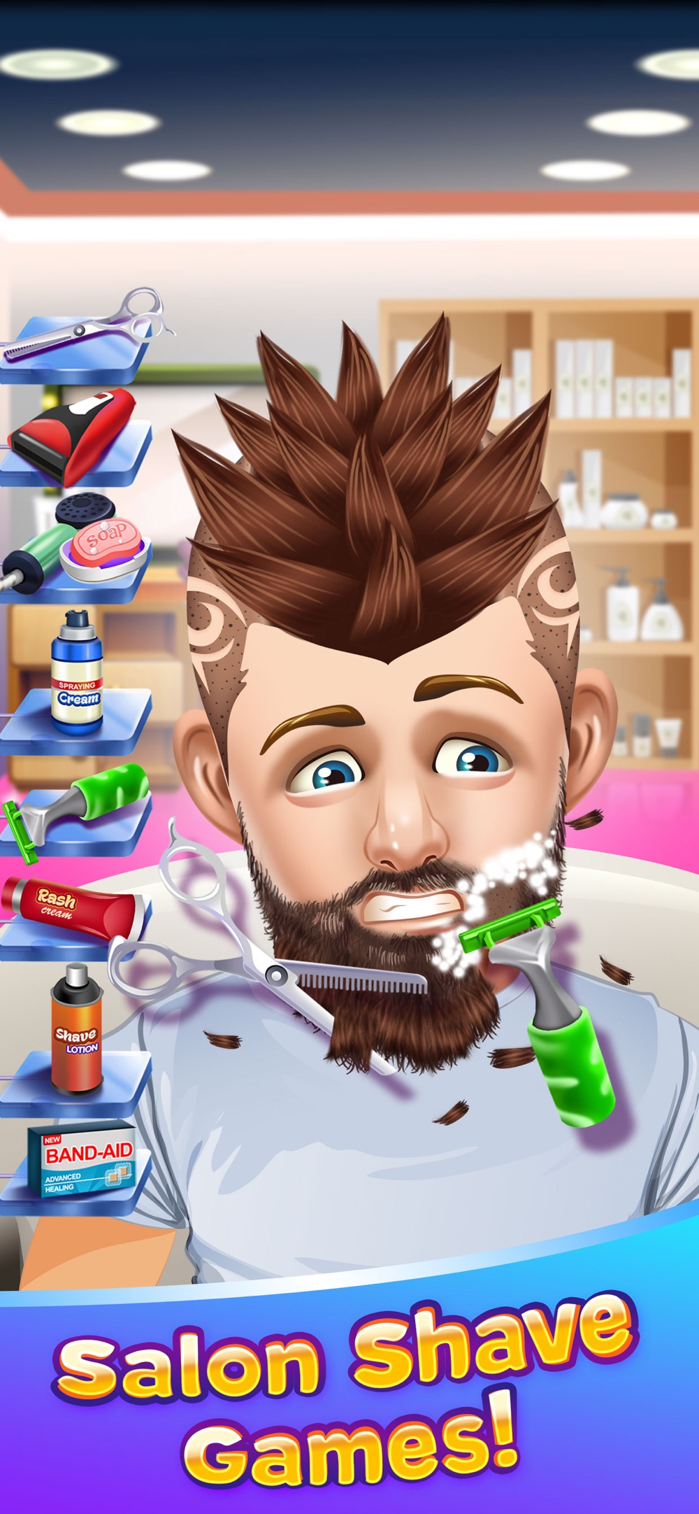 Shave Salon Cooking Games Cheat Codes