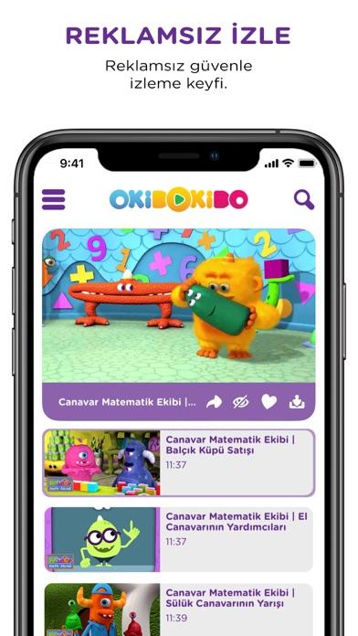 OkiDoKido: Çocuk Çizgi Film TV screenshot four