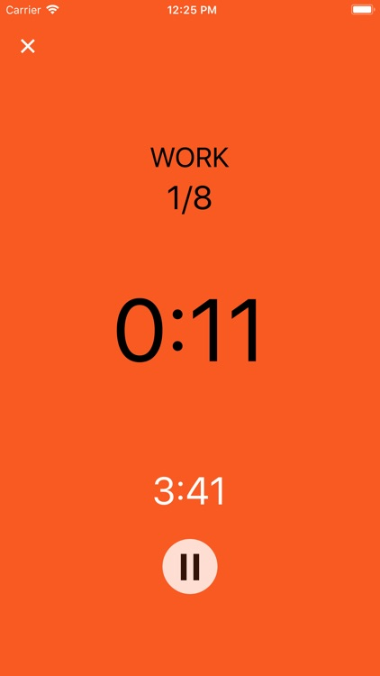 HIIT (Watch) Timer