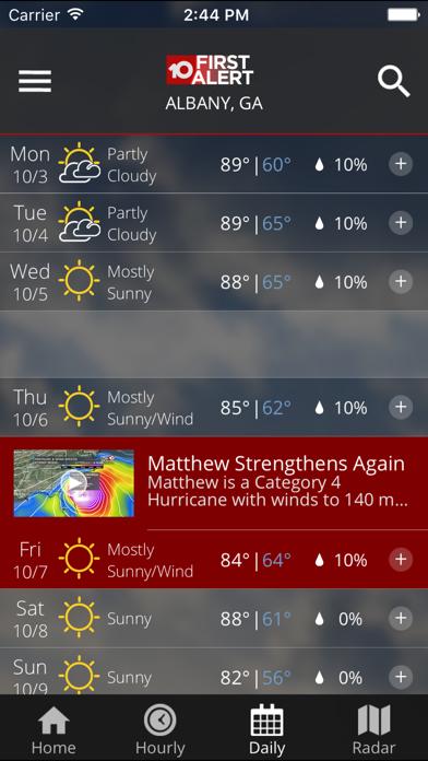 WALB First Alert Weather   From Raycom Media Inc   Wqxri apps store