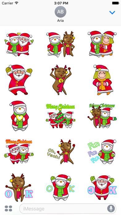 Animated Happy Santa Claus Gif screenshot 2