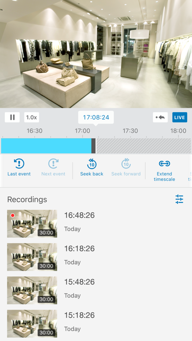 DS cam by Synology Inc  (iOS, United States) - SearchMan App