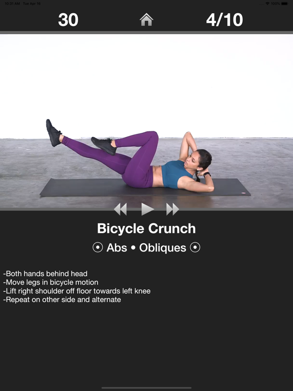 Daily Ab Workout - Abs Fitness-ipad-0