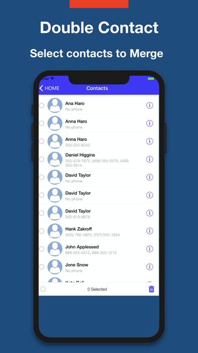 Best iPhone Contact Cleaner Screenshots