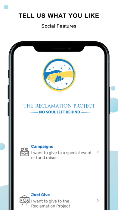 Reclamation Project screenshot #4