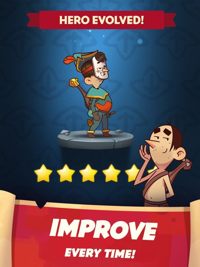 Almost a Hero: idle RPG game on the App Store