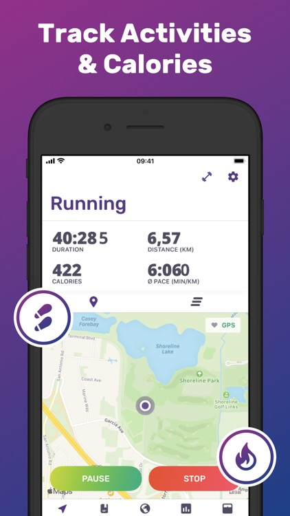 Jogging Tracker Running FITAPP screenshot-0
