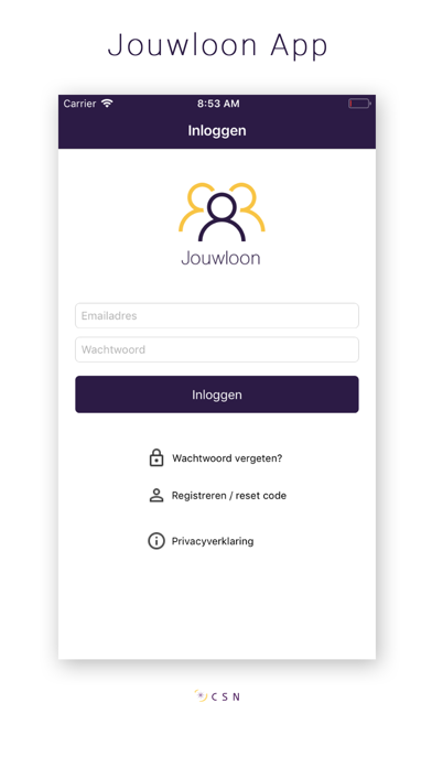 Jouwloon App screenshot one