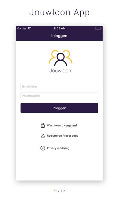 Jouwloon App screenshot one