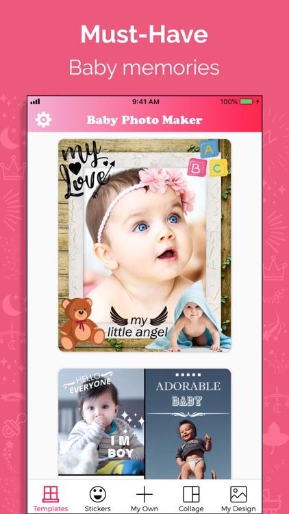 Baby Story Photo Maker screenshot-0
