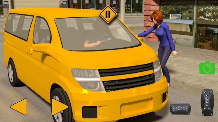 Exciting Taxi Driver Game