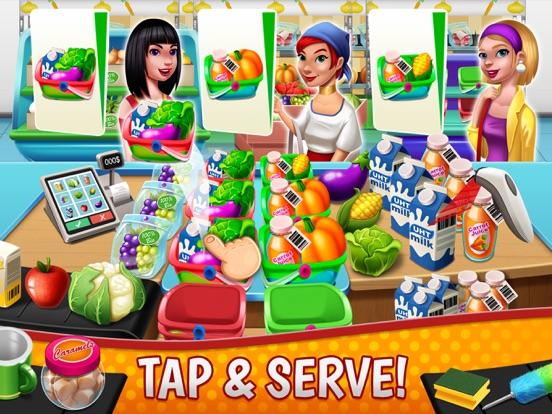 Supermarket Fever - Girls Game-ipad-2