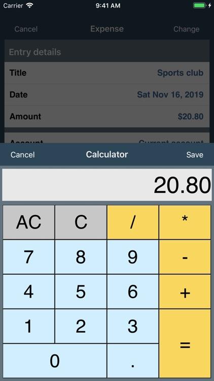 My Budget Book screenshot-3