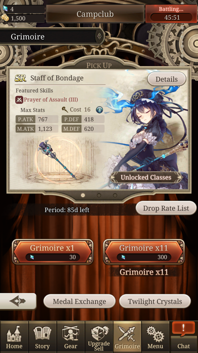 SINoALICE free Crystals and Time hack