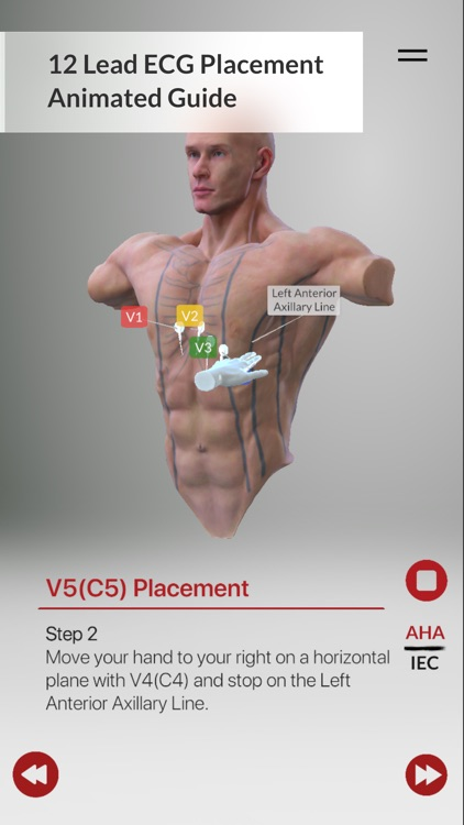 3D ECG Leads screenshot-2