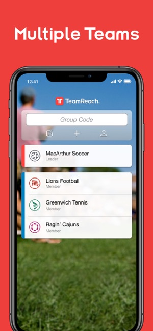 TeamReach – Your Team App on the App Store