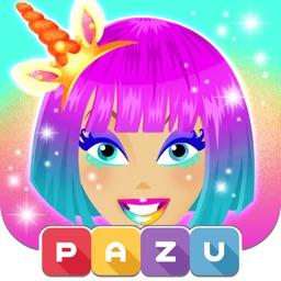 Girls games unicorn dress up
