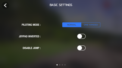 Screenshot from Game Controller Jumping Sumo