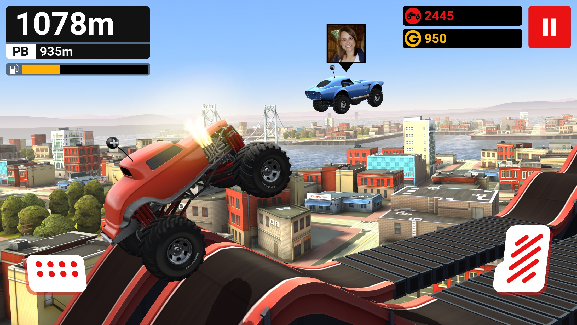 MMX Hill Dash — OffRoad Racing Screenshot