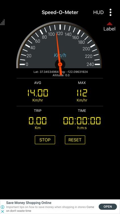 SpeedoMeter GPS - Odometer screenshot-5