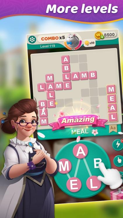 Word villas - Crossword&Design screenshot-6