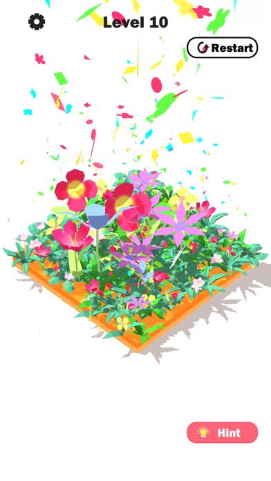 Flower Link -Color Fill Puzzle screenshot 3