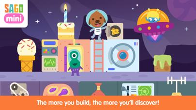 Sago Mini Space Blocks screenshot 3
