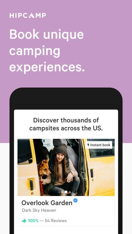 Hipcamp: Camping & Glamping