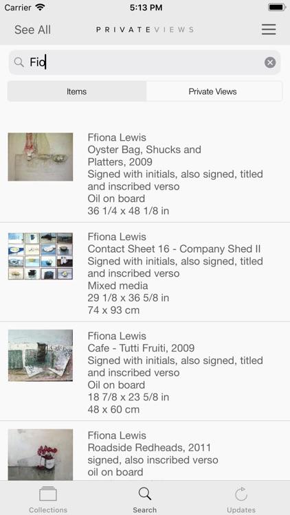 Artlogic PrivateViews screenshot-4