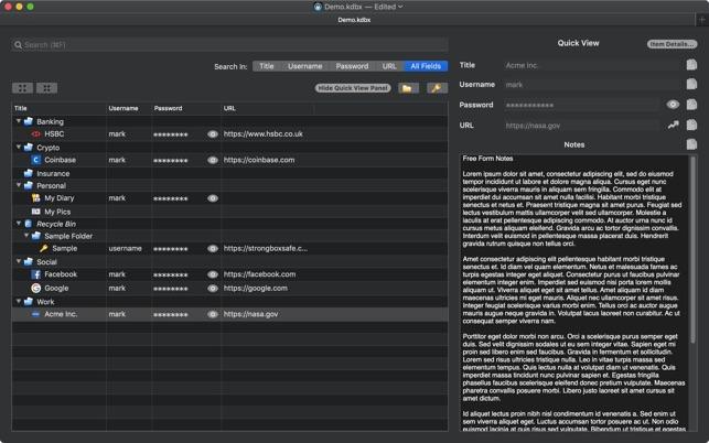 Strongbox on the Mac App Store