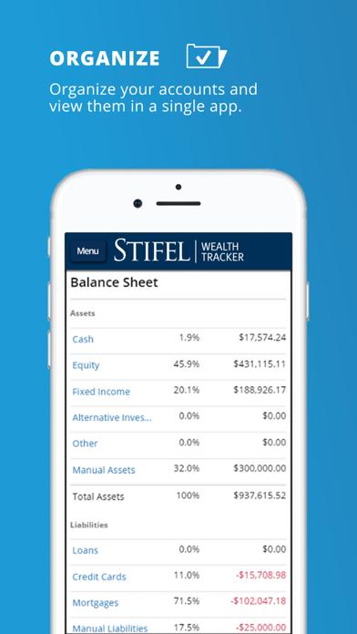 Stifel Wealth TrackerScreenshot of 1