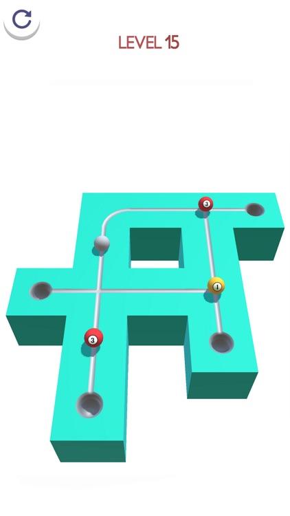 Marble Ball Run 3D screenshot-4