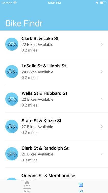 Bike Findr screenshot-3