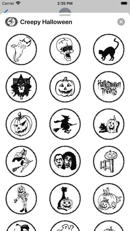 Creepy Halloween - Stickers