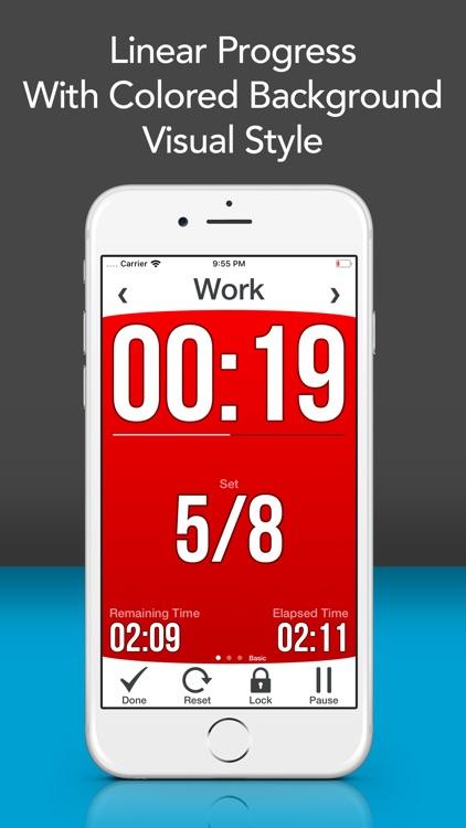 Workout Interval Timer Lite screenshot-8