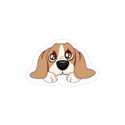 Nhãn Dán Chú Chó La