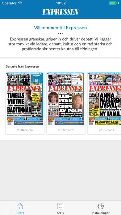 Expressen Tidning på PC