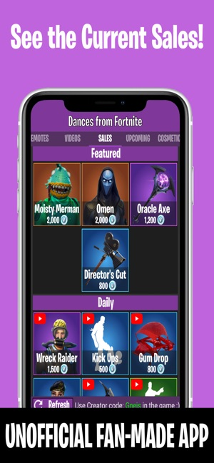 Dances from Fortnite on the App Store