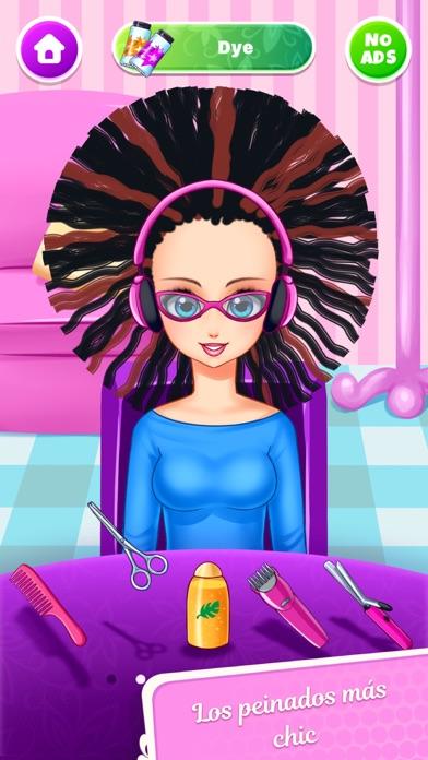 Girls Hair Salon - MuñecasCaptura de pantalla de2