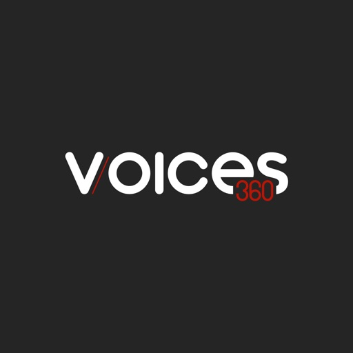Voices360 free software for iPhone and iPad