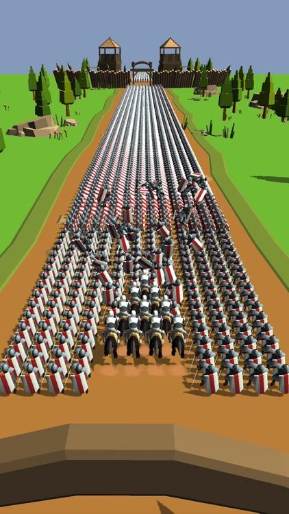 Horseman Rush 3D screenshot-0