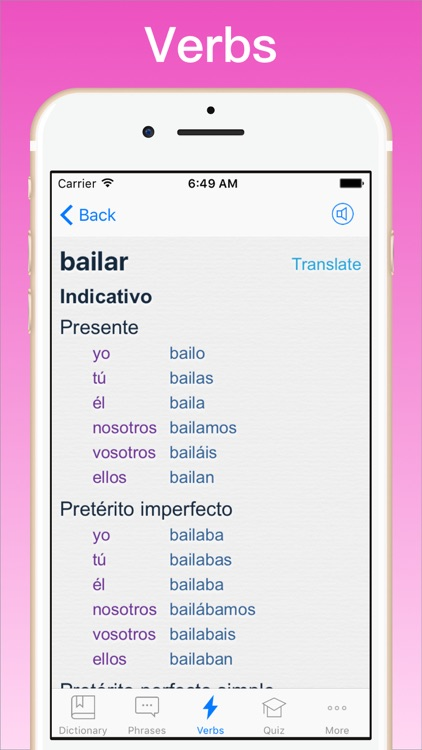 Spanish Dictionary + © screenshot-3