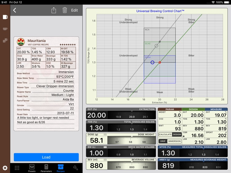 VST CoffeeTools™ for iPad screenshot-3