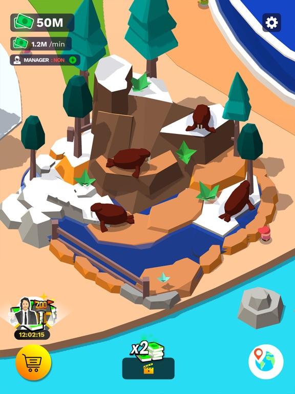 Idle Zoo Tycoon 3D iPad app afbeelding 6