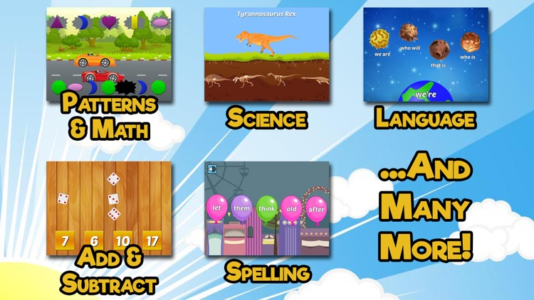 First Grade Learning Games SE