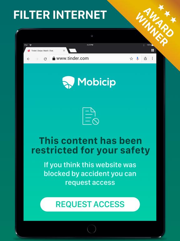 Mobicip Safe Browser With Parental Control screenshot